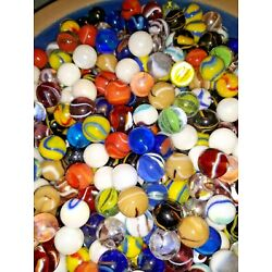 Kyпить Mixed 50 Lot Assorted Old Vintage New Modern Colorful Glass Marbles GREAT MIX  на еВаy.соm