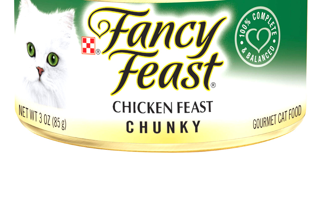 Purina Fancy Feast Adult Canned Wet Cat Food Chunky Chicken - Chunky 3 Oz.