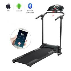 Kyпить 750W Foldable Electric Motorized Treadmill Running Jogging Gym Power Machine New на еВаy.соm