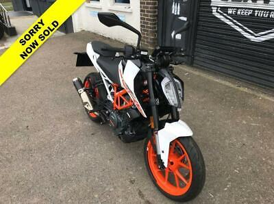 2018 18 KTM 390 DUKE - ***OUR LOVELY EX DEMO WITH ONLY 780 MILES!***