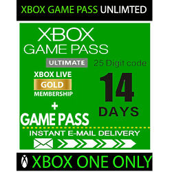 Kyпить XBOX LIVE GOLD 14 Day + Game Pass (Ultimate) Trial Code INSTANT DELIVERY 24/7 на еВаy.соm