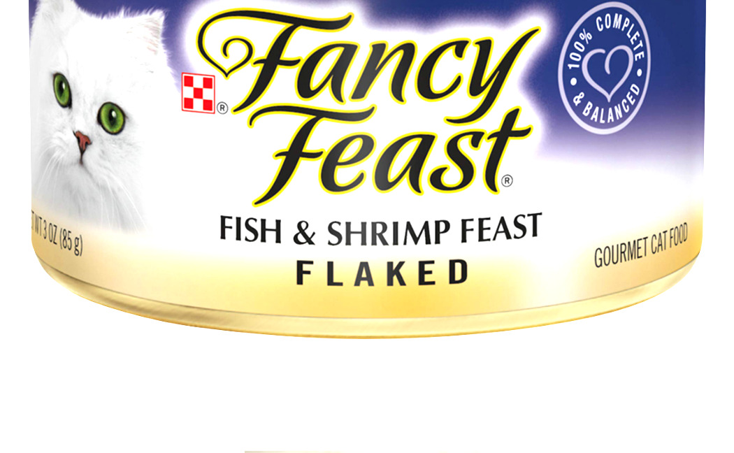 Purina Fancy Feast Adult Canned Wet Cat Food Flaked Fish & Shrimp