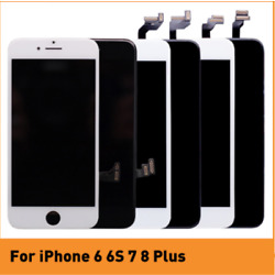 USA LCD Screen Touch Digitizer Assembly Replacement for iPhone 5 6 6s 7 8 Plus