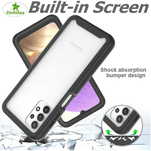 360 Shockproof Rugged Hard Armour Case Cover For Samsung Galaxy A10,A20E,A50,A70