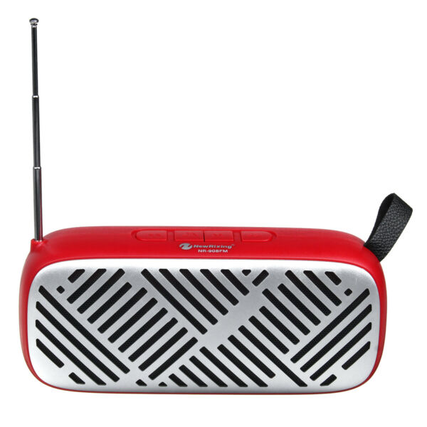 FM Radio Wireless bluetooth5.0 6W Stereo Speakers SD Card U-disk Playback Music