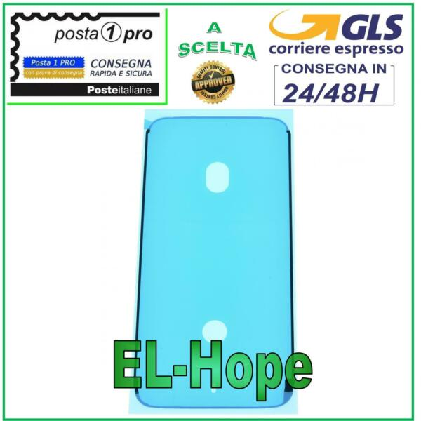 BIADESIVO GUARNIZIONE ANTI INFILTRAZIONE FISSAGGIO LCD DISPLAY APPLE IPHONE 7 7G