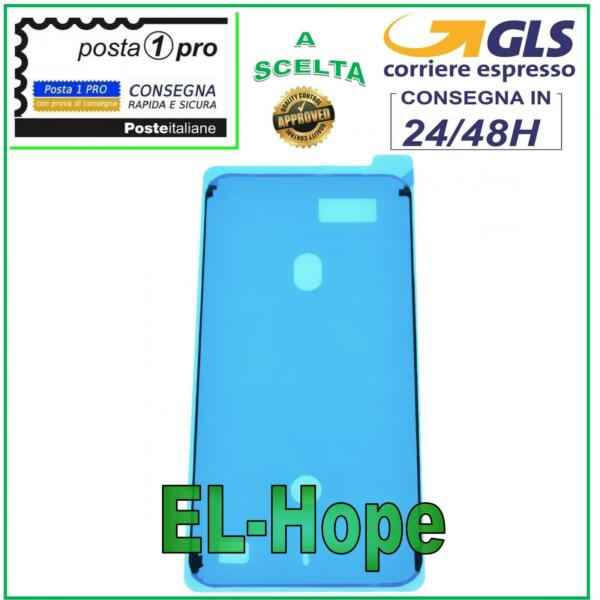 FRAME CORNICE ADESIVA BIADESIVO IMPERMEABILE TELAIO DISPLAY APPLE IPHONE 8 PLUS