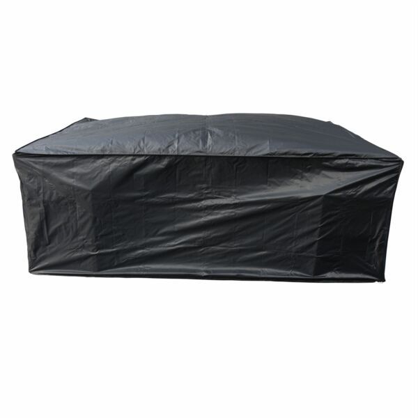 KCT RECTANGLE GARDEN FURNITURE COVER  SMALL PROTECT PATIO TABLE CHAIR DEBRIS