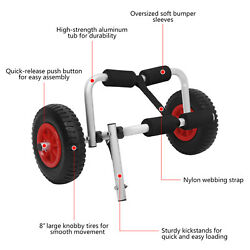 Kyпить Kayak Canoe Boat Carrier 50KG Dolly Trailer Tote Trolley Transport Cart Wheel на еВаy.соm