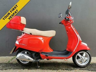 2012 62 PIAGGIO VESPA LX 124CC LX 125 4T 3V - ***FITTED WITH A HANDY TOP BOX!***