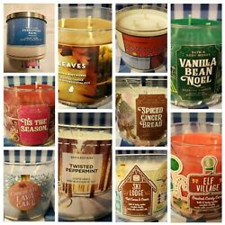 Kyпить 1BROKEN Bath and Body Works 3 Wick Scented Candle! Read Description Before Order на еВаy.соm