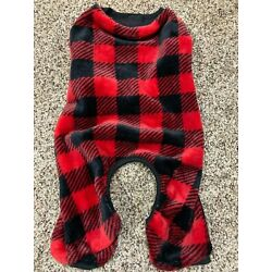 Pet Apparel LuvGear Cold Alert Technology Red Fleece Dog Sweater Size X-Small XS