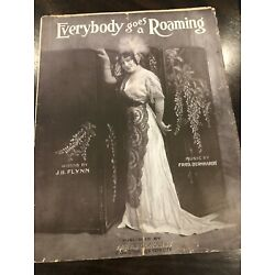 Kyпить Everybody Goes a Roaming sheet music 1913 Vntage на еВаy.соm