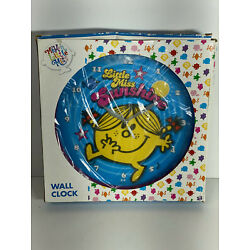 Kyпить Little Miss Sunshine 25cm Clock NIB Mr Men Roger Hargreaves 2008 Hot Topic RETRO на еВаy.соm