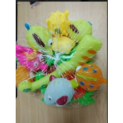 Kyпить 10 pcs Animals Kids Fishing Toys Soft Float Sqeeze Sound Wash Play Bath Baby на еВаy.соm