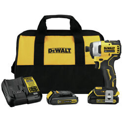 Kyпить DeWalt DCF809C2R ATOMIC 20V MAX 1/4 in. Impact Driver Kit Certified Refurbished на еВаy.соm