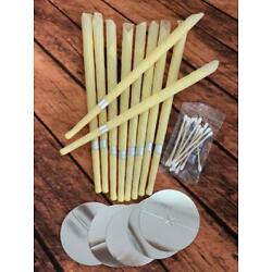 Kyпить 10pcs Ear Cleaner Wax Removal Candles Treatment Care Healthy Hollow Candles на еВаy.соm