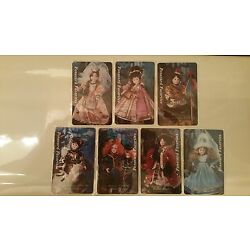 Kyпить Limited 1995  Complete 7 Card Dolls Telecard Set Of Camelot Collection Series на еВаy.соm