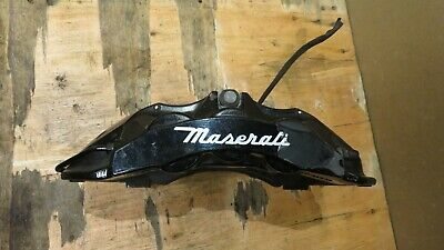 2014-2017 MASERATI GHIBLI FRONT LEFT DRIVER SIDE BRAKE CALIPER BLACK BREMBO OEM