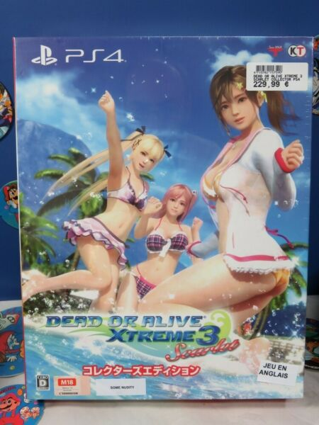 Paris,FranceDEAD OR ALIVE XTREME 3  COLLECTOR PS4 ASIAN AVEC TEXTE EN ANGLAIS NEW