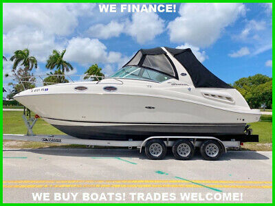 2007 SEA RAY 260 SUNDANCER! 185 HOURS! MINT!