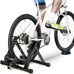 Kyпить Magnetic Bike Bicycle Trainer Indoor Stationary Exercise Stand Steel Frame Black на еВаy.соm