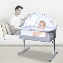Kyпить Baby Infant Bedside Bassinet Crib Cradle Nursery Carrier Newborn Sleeper Basket на еВаy.соm