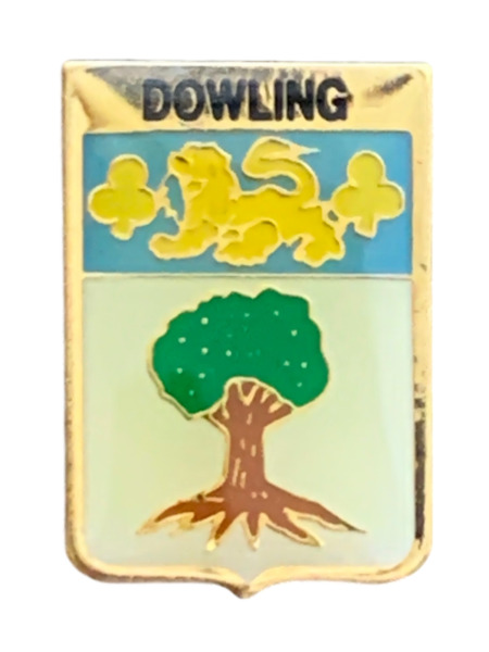 Royaume-UniSmartbadge Dowling  Clan Nom Revers Broche Badge