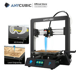 Kyпить ANYCUBIC Mega Pro 2-in-1 3D Drucker Laser Engraving Assist Nivellierung PLA TPU на еВаy.соm