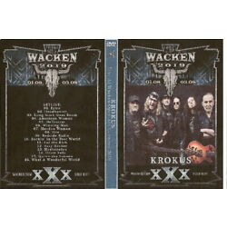 Kyпить krokus live wacken open air germany dvd 2019 iron maiden ozzy dio whitesnake  на еВаy.соm