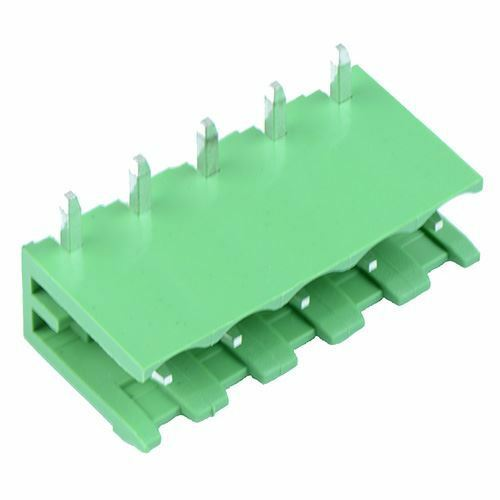Royaume-Uni10 X 5-Way Plug-In PCB Horizontal Ouvert Embouts Header 5.08mm