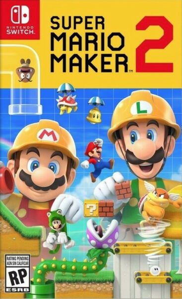 SUPER MARIO MAKER 2 (LIRE LA DESCRIPTION) - NINTENDO SWITCH