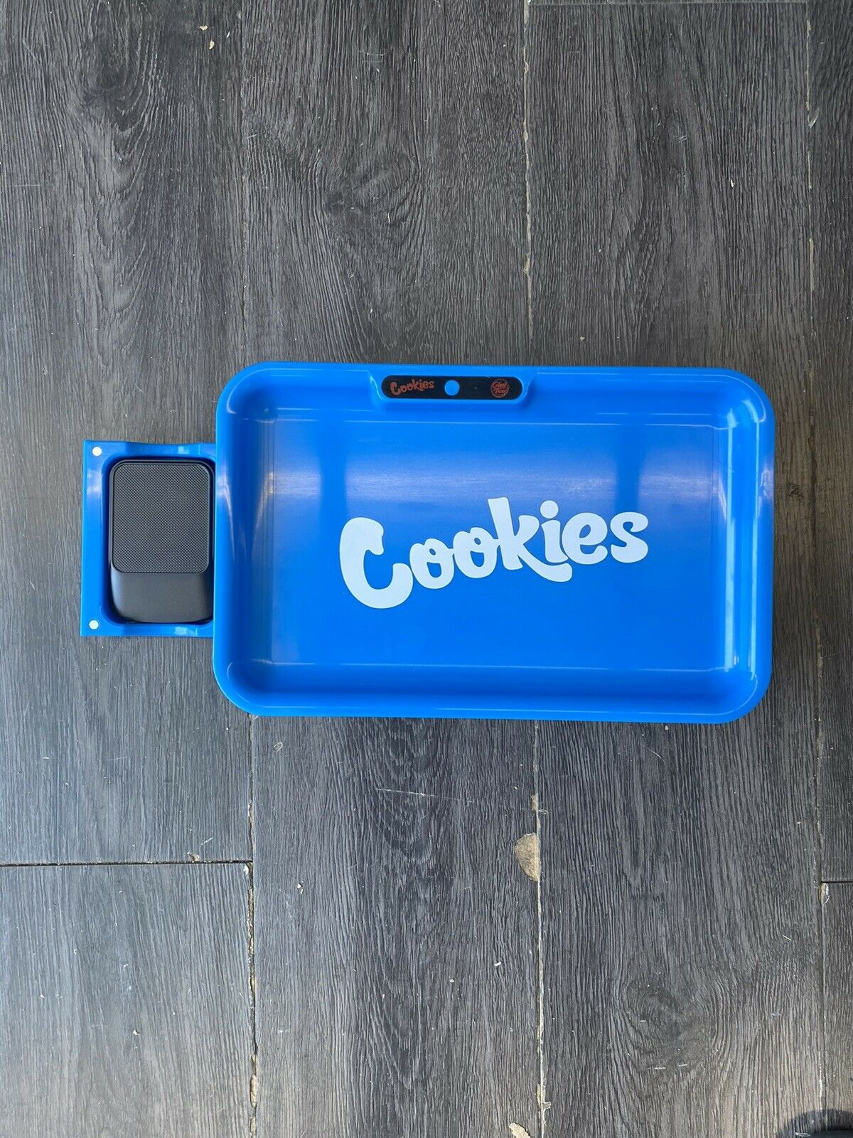 UPC 759952113459 product image for Brand Cookies Sf X Glow Tray Led Rolling Tray - Blue / With Measuring Scale | upcitemdb.com