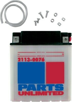 Parts Unlimited 12V Heavy Duty Battery Size 2113-0076