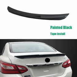 Fit For NISSAN Altima 2016-2018 Gloss Black Rear Trunk Lip Spoiler Wing