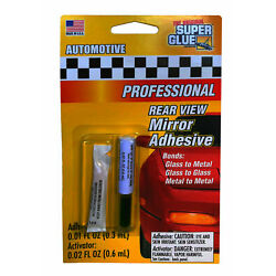 Rearview Mirror Glue Kit Adhesive Professional Strength Permanent Made in USA