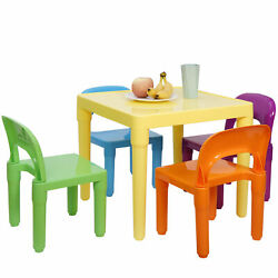 Kyпить Kids Table and Chairs Play Set Toddler Child Toy Activity Furniture In Outdoor на еВаy.соm