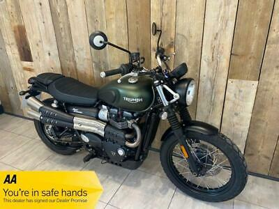 2017 Triumph STREET SCRAMBLER STREET .PX,FINANCE,DELIVERY AVAILABLE MOTORCYCLE P