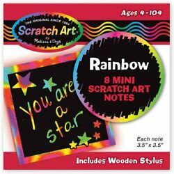 Kyпить Melissa & Doug Rainbow Mini Scratch Art Craft Notes from Little Folks на еВаy.соm
