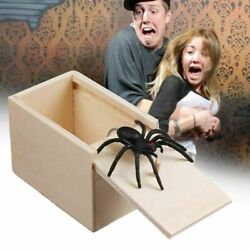 Kyпить Wooden Spider in a Box Prank Gift Gag Pull Toy Joke Trick Scare Tool Case New на еВаy.соm