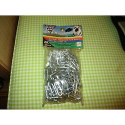 DOG LINK CHAIN 20 FT SEAL MINT PACKAGE NEVER OPENED 04566383820 W/GREAT PRICE