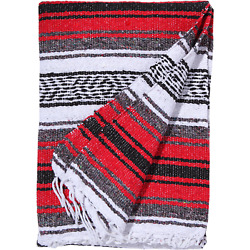 Kyпить El Paso Designs - Red Mexican Yoga Blanket - 51 x 74 inches на еВаy.соm