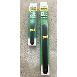 McDermott 6'' or 11'' Engage Pool Cue Extensions 4/H-Series VBP Weight System