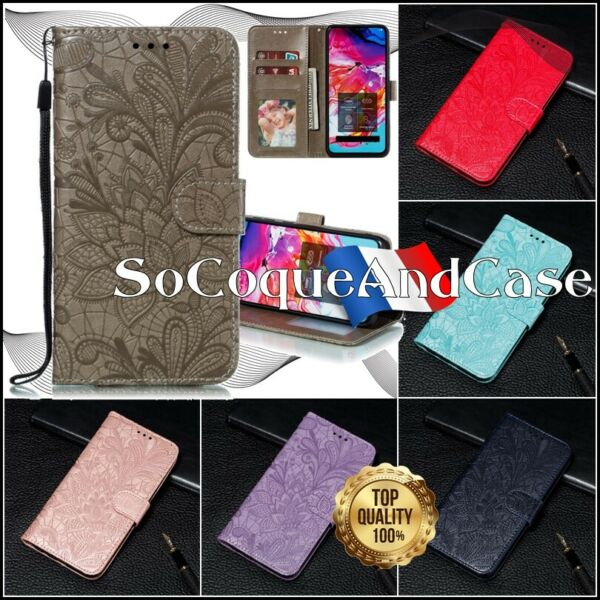 Roquefort les Pins,FranceEtui Coque Housse LACE Cuir PU Leather Stand Wallet Case Cover SONY Xperia L4