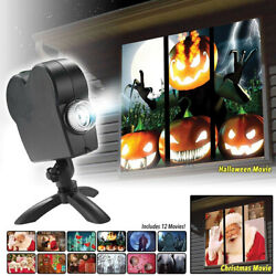 (>^.^)> Halloween & Christmas Party Projector Lamp (^.^)