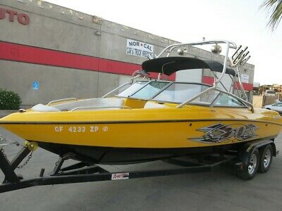 2004 Mastercraft X30+Trailer/engine starts/cluster working project Low reserve