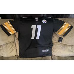 Kyпить Chase Claypool #11 Pittsburgh Steelers Jersey Black 100% STITCHED на еВаy.соm