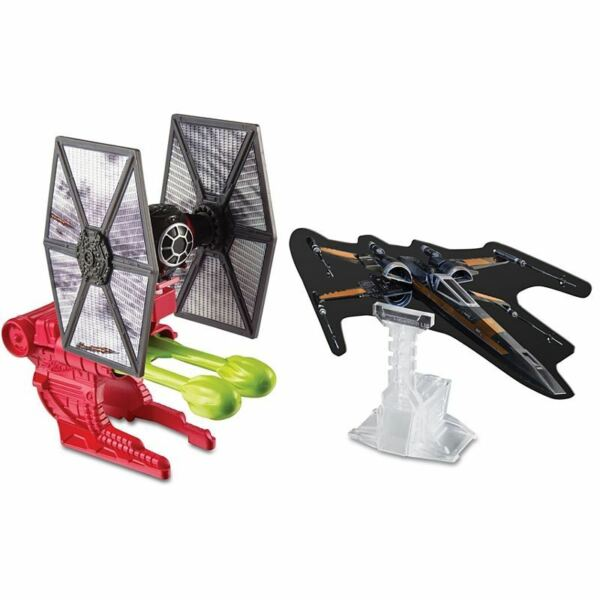 Royaume-UniStar Wars Hot Wheels Explosif Attaque Premier Ordre Special Forces Tie Fighter