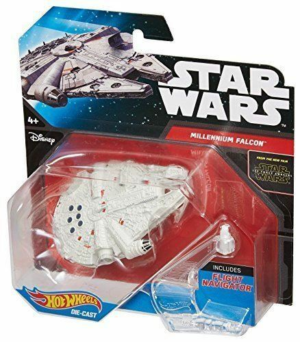 Royaume-UniStar Wars Hot Wheels Moulé - Force Awakens Millenium Falcon - CGW52 CKJ66