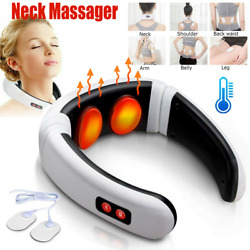 Kyпить Back Neck Massager Electric Pulse Far Infrared Heating Pain Relief Health Relax на еВаy.соm
